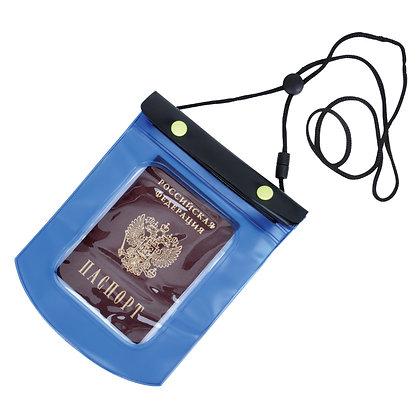 Герметичный водонепроницаемый зип-пакет для документов большой 17*27,5 см.