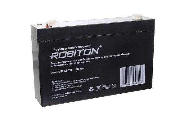 Аккумулятор ROBITON VRLA6-7,0