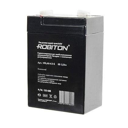 Аккумулятор ROBITON VRLA6-4,5