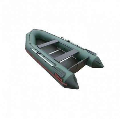 Лодка ТАЙГА NOVA-320 Киль (зеленая)