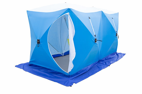 Палатка СТЭК КУБ-3 ДУБЛЬ (трехслойная, дышащая)