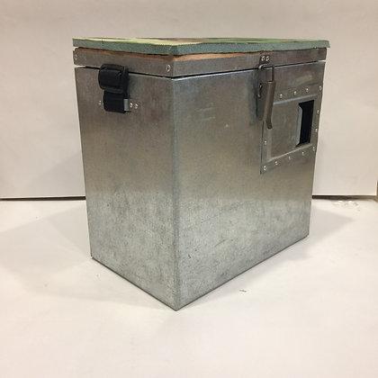 Ящик зимний оцинкованный с окошком