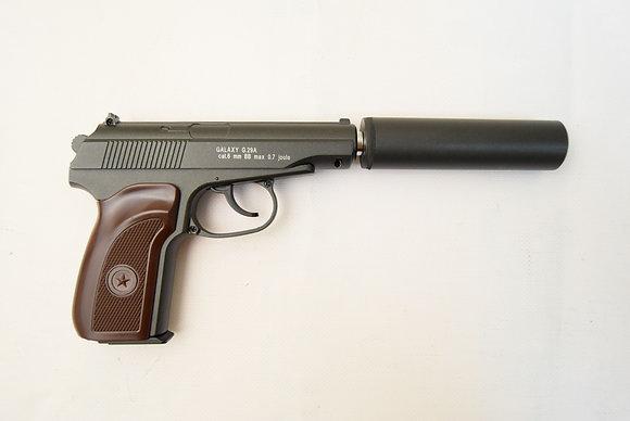 Пистолет софтэйр GALAXY G.29A пружинный кал. 6мм