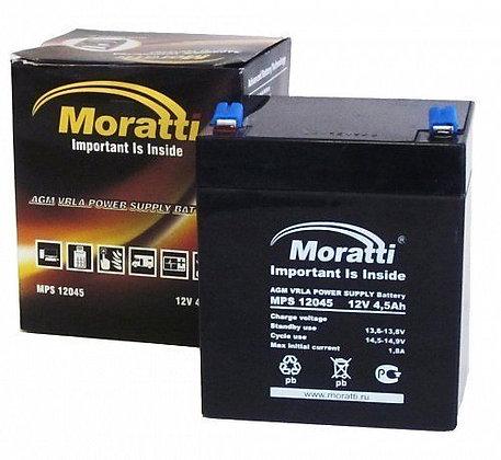 АКБ Moratti 12V 4,5Ah (MPS12045)