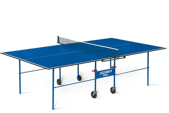 6021-1 Теннисный стол OLYMPIC с сеткой и комплектом