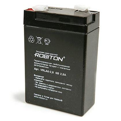 Аккумулятор ROBITON VRLA6-2,8