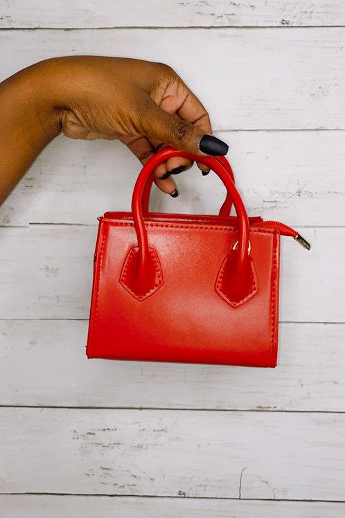 Mini Red Purse