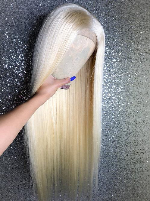 Preorder Blonde Closure Wig