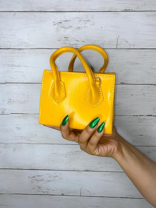 Mini Yellow Bag
