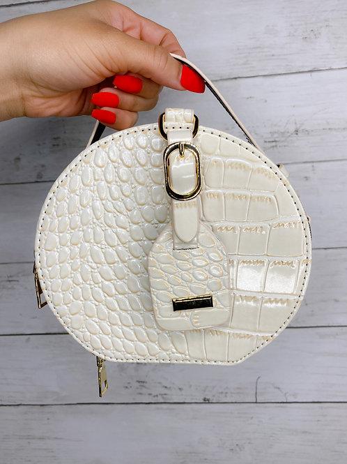 Nude Bag Crocodile Bag