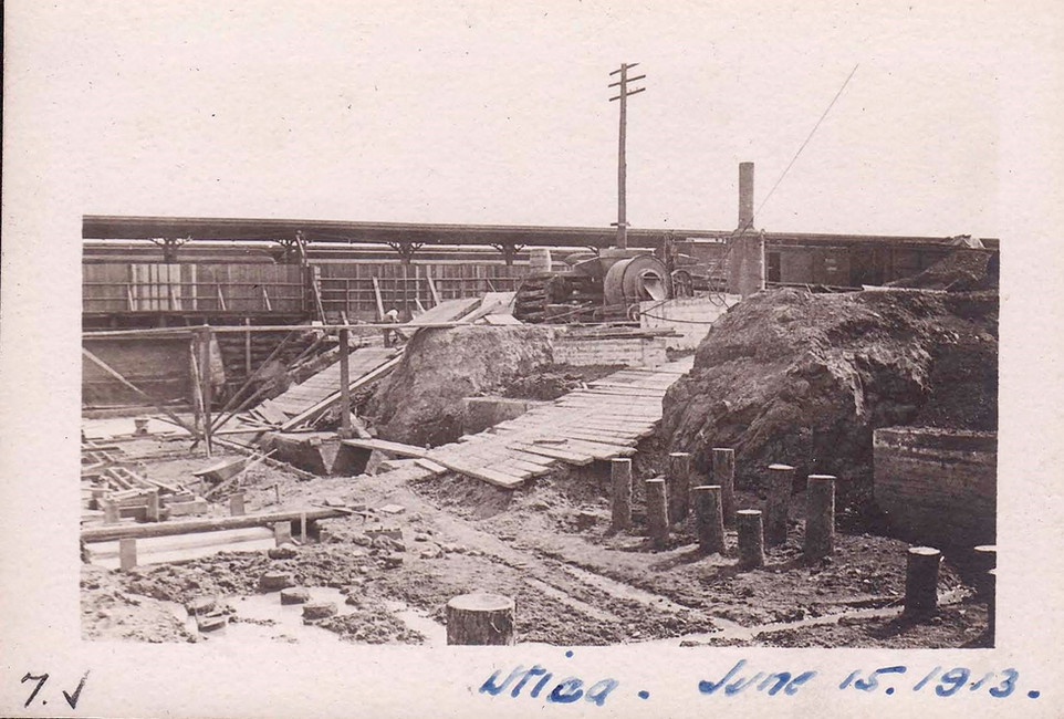 Early Utica Construction