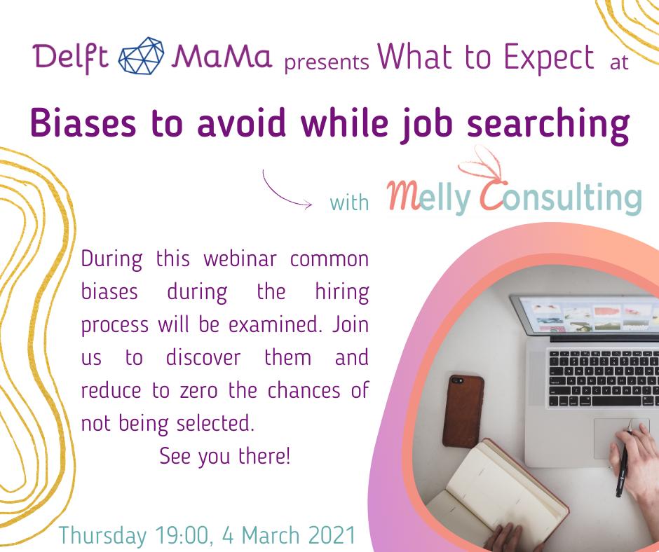 Biases and job searching webinar