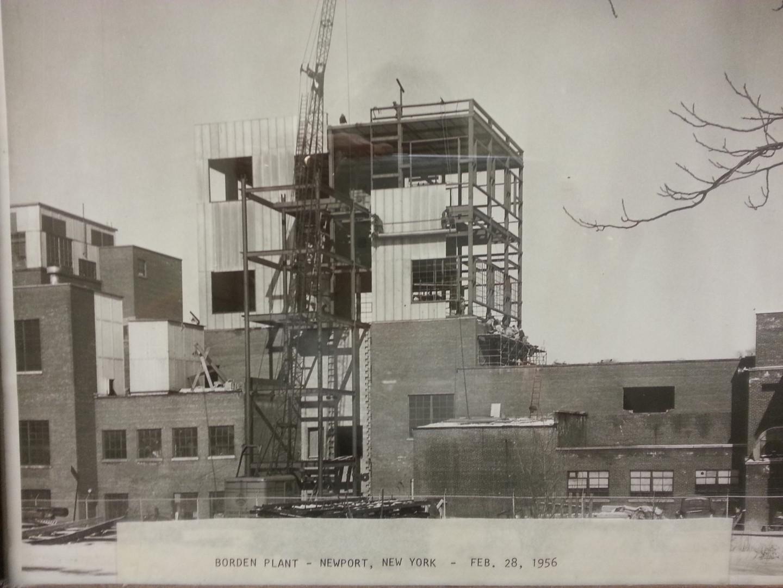 Borden Plant, Newport NY 1956