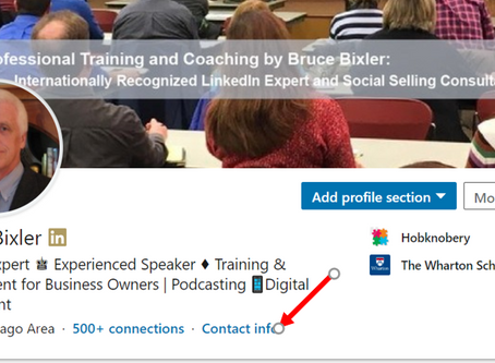 Can people in your network contact You on #LinkedIn?
