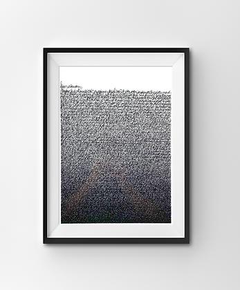 The letter, 29.7x42cm