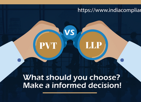 Pvt Ltd Co. vs LLP. What should you choose? Make a informed decision!
