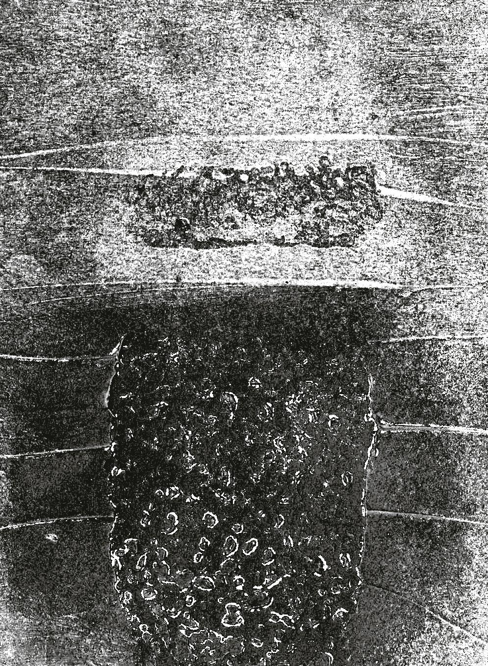 Dolmen II 18x18cm  2013 70€