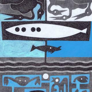 Clair de lune et Bord de mer