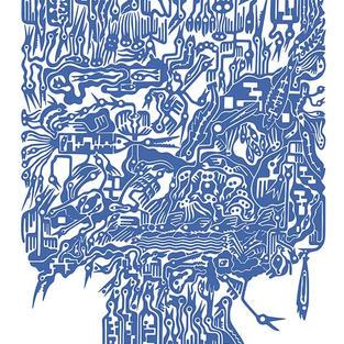ARBRE GENEALOGIQUE 03 bleu