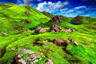 Hiking Scotland -4K Cinematic Video The Old Man of Storr, Isle of Skye, Scottish Highlands