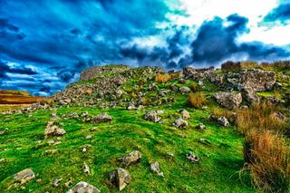 Hiking Scotland - 4K Cinematic Video of The Broch at Dun Beag, Isle of Skye, Scottish Highlands