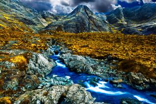 Hiking Scotland - 4K Video of hiking The Fairy Pools, Isle of Skye, Scottish Highlands