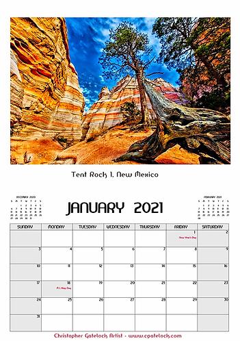 New Mexico Calendars