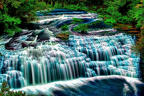 Surreal Waterfalls