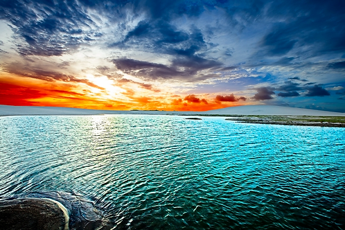 Sunset Lake Dunes, Jericoacoara