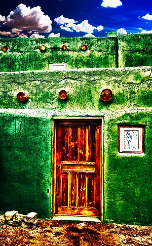 Spanish Door, Taos