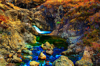 NEW!! Hiking Scotland - 4K Drone Footage of The Fairy Pools, Isle of Skye, Scottish Highlands