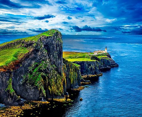 The Neist Point Lighthouse, Skye