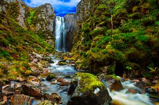 Hiking Scotland - Exploring Wailing Widow Falls in the Scottish Highlands