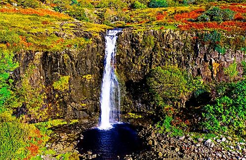 Isle of Mull, Eas Fors Waterfall