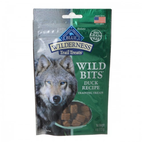 Blue Buffalo Wilderness Trail Treats Wild Bits - Duck Recipe Training Treats