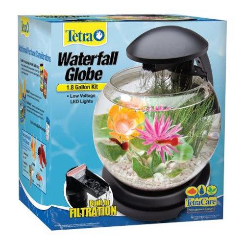 Tetra Waterfall Globe Aquarium