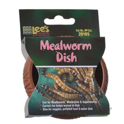Lees Mealworm Dish - Plastic