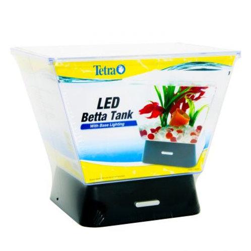 Tetra Betta Tank with LED Base Lighting