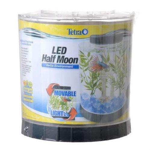 Tetra Half Moon Betta Kit with LED Lighting