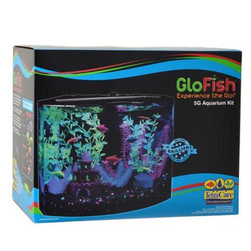 GloFish Aquarium Kit with LED Lighting