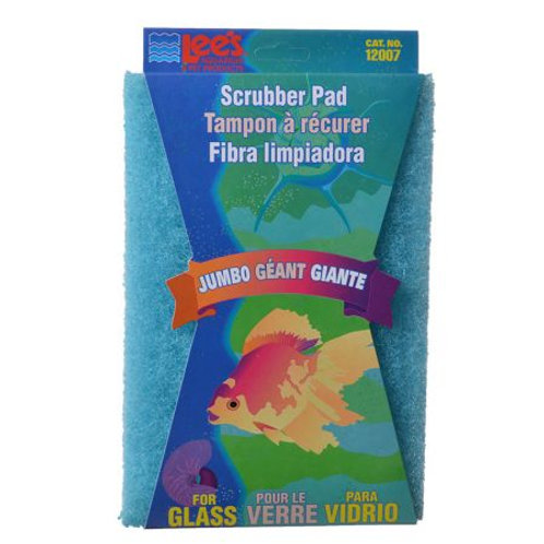 Lees Jumbo Size Scrubber - Glass