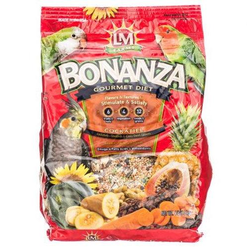 LM Animal Farms Bonanza Cockatiel Gourmet Diet