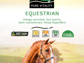 INTRODUCING PURE VITALITY EQUESTRIAN CONCENTRATE