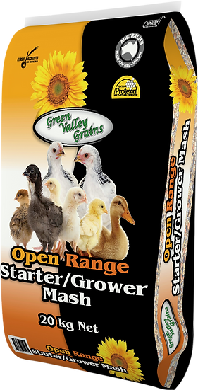 OPEN RANGE STARTER/GROWER MASH 20KG & 10KG
