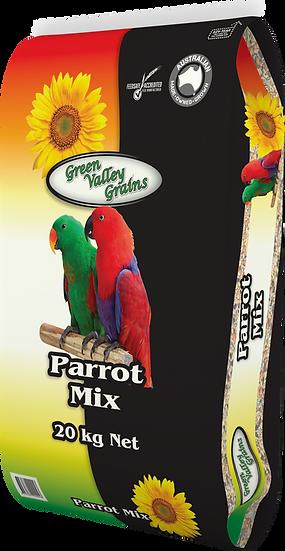 GREEN VALLEY GRAINS PARROT MIX 20KG, 5KG & 2KG