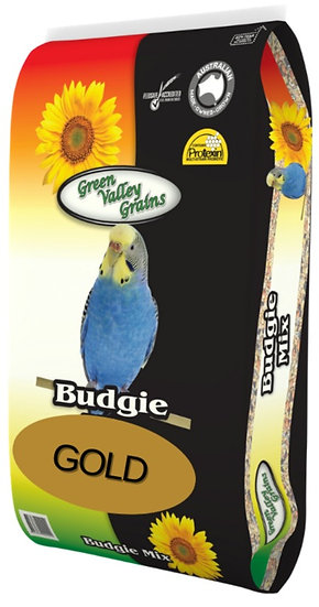 GREEN VALLEY GRAINS BUDGIE GOLD