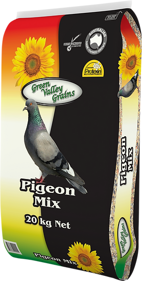 GREEN VALLEY GRAINS PIGEON MIX 20KG, 5KG & 2KG
