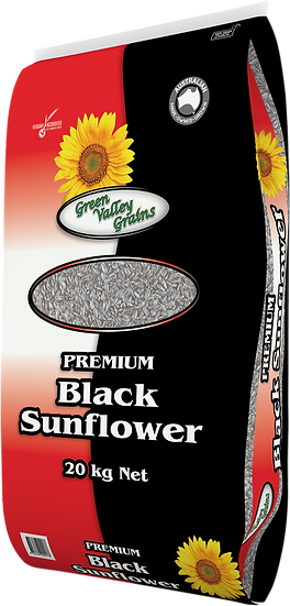 GREEN VALLEY GRAINS PREMIUM BLACK SUNFLOWER SEEDS
