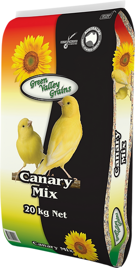 GREEN VALLEY GRAINS CANARY MIX 20KG, 5KG & 2KG