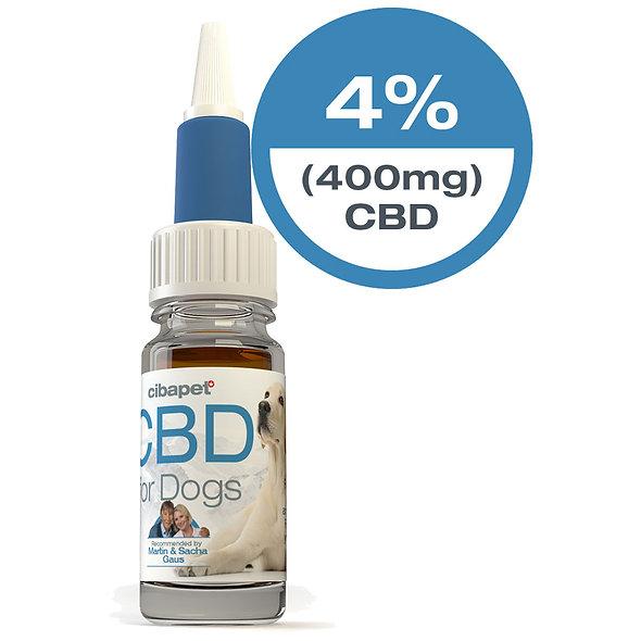 CBD Olie voor de hond 4%